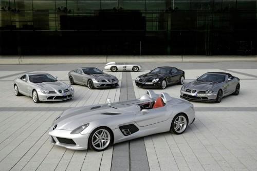 Mercedes SLR Range