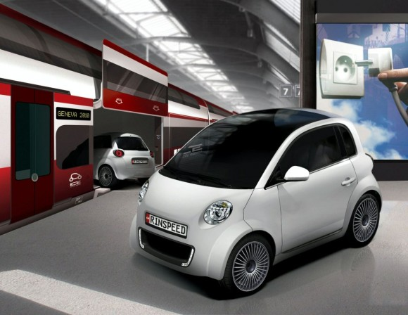 RINSPEED UC Electric Vehicle Concept