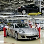 The 10.000th Porsche Panamera rolled off the production line at the Leipzig plant of Dr. Ing. h.c. F. Porsche AG.