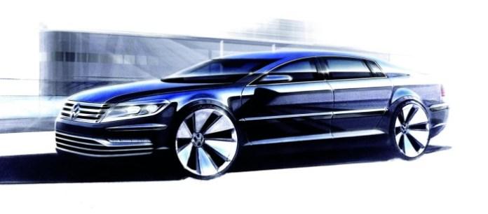 Volkswagen Phaeton facelift 2011