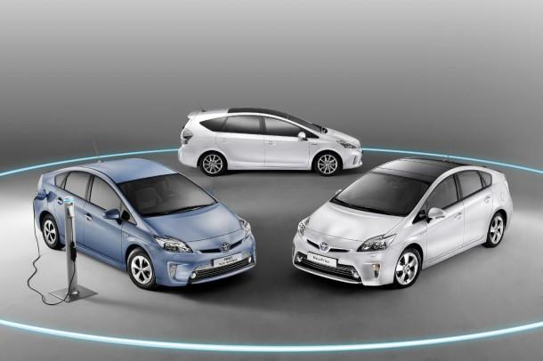 Toyota Prius lineup