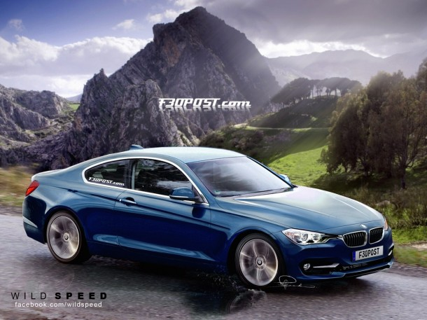 BMW 4-Series Rendering