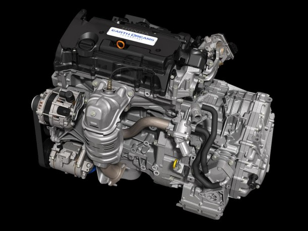 Honda 2.4-liter Earth Dreams direct injection engine