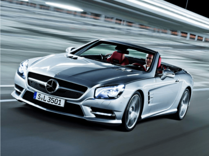Mercedes SL-Class 2013 Leaked Photo