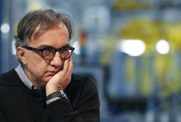Sergio Marchionne, CEO of Fiat and Chrysler Group, attends a presentation of the new Panda car at the Fiat plant in Pomigliano D'Arco, near Naples