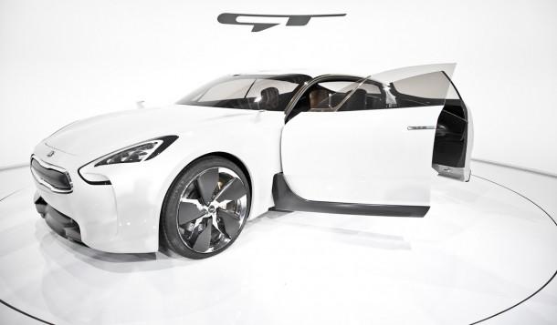 Kia GT Concept Live in IAA 2011