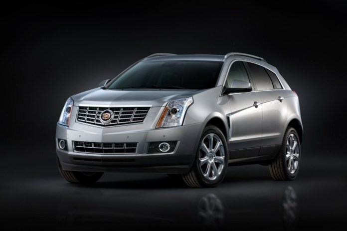 Cadillac SRX Facelift 2013
