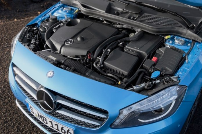 Mercedes A-Class 2013 Engines