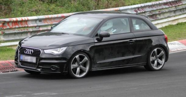 Audi S1 Spy Photo
