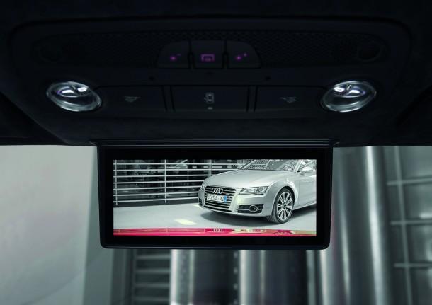 Digitaler Innenspiegel im Audi R8 e-tron