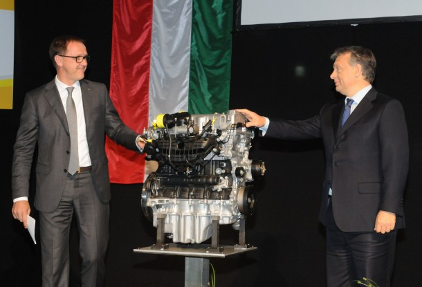 New Opel Engine plant inaugurated in Szentgotthárd, Hungary