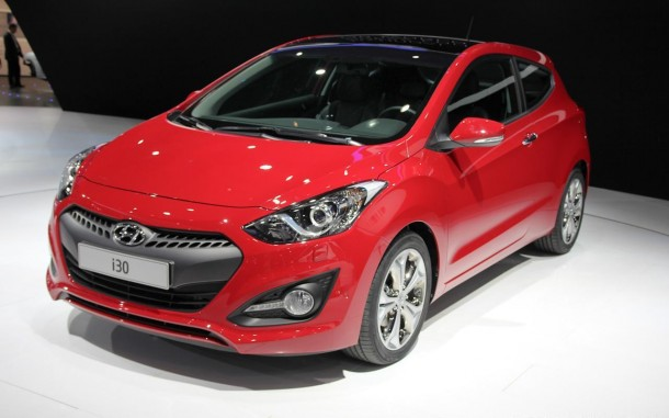 Hyundai i30 3-Door Live in Paris 2012