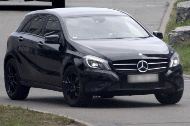 Mercedes GLA Spy Photos