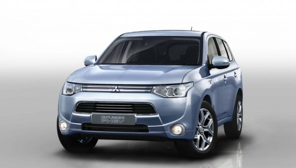 New Mitsubishi Outlander Plug-in Hybrid EV