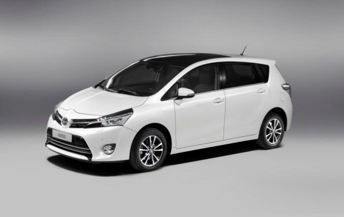 Toyota Verso Facelift 2013