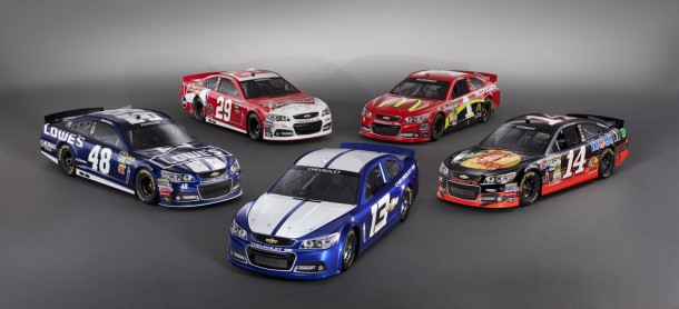 Chevrolet SS NASCAR Race Car 2013