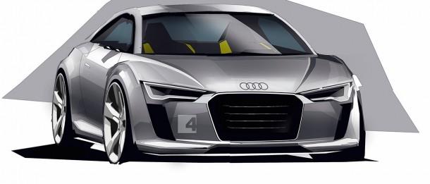 Audi TT MK3 2014 Renderings (1)