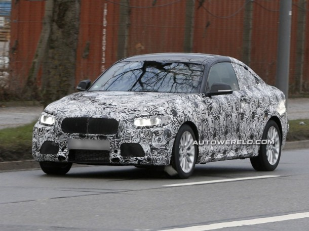 BMW 2-Series Coupe 2013 Spy Photos (1)