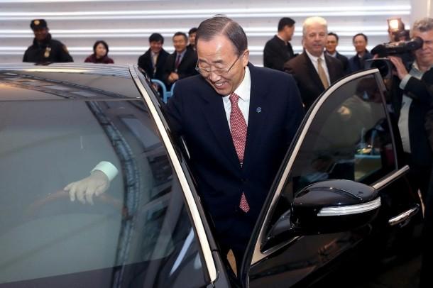 Bullet-proof Hyundai Equus For Ban Ki-moon (4)