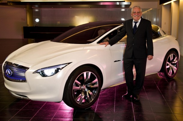 Colin Dodge with the Infiniti Etherea