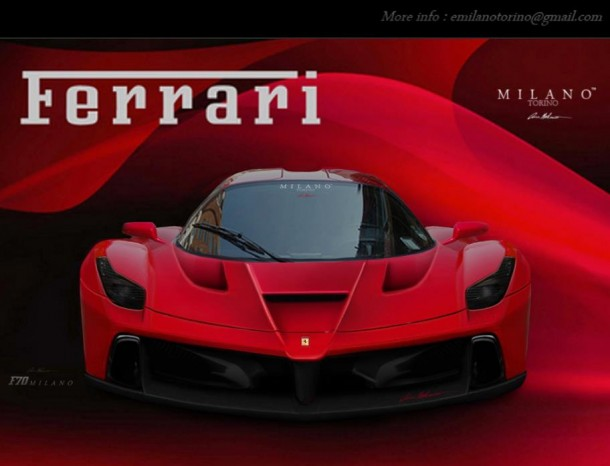 Ferrari F150 Renderings by Evren Milano (2)