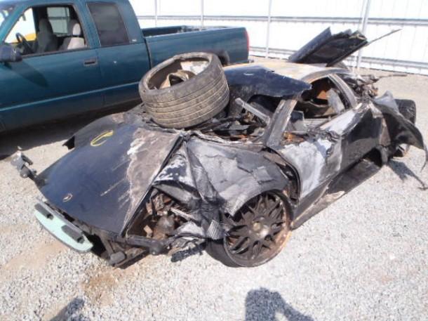 Lamborghini Murcielago Crashed (2)