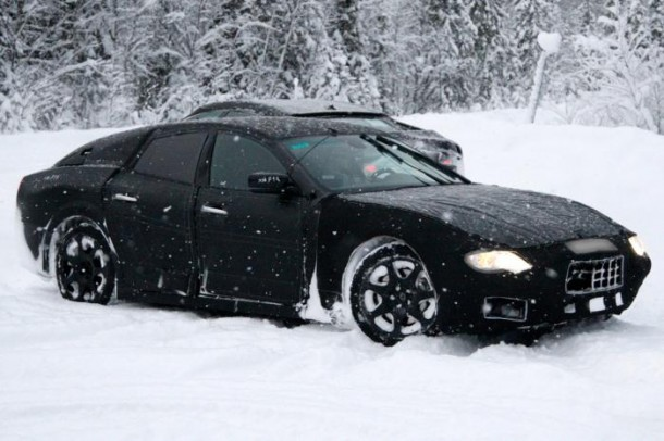 Maserati Ghibli Spy Photos (1)