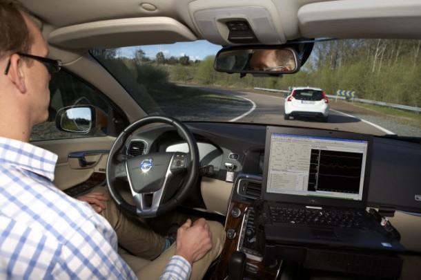 Volvo-Autonomous-Car-Testing