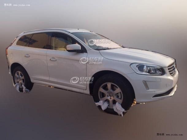 Volvo XC60 2014 Spy Photos (2)