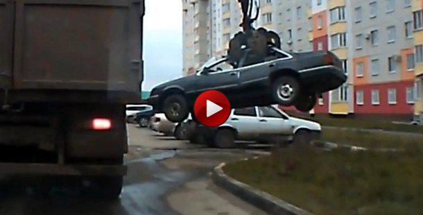 russia illegal parking
