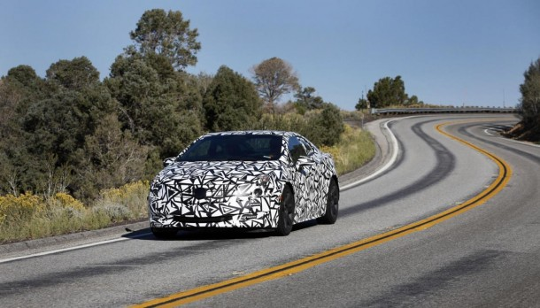 2014 Cadillac ELR official spy photo