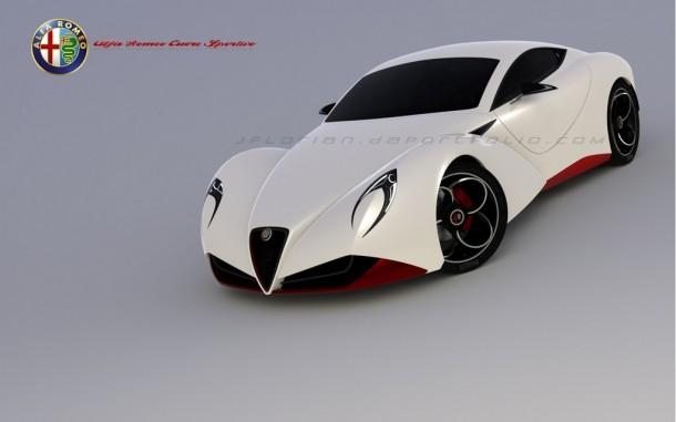 Alfa Romeo 6C Cuore Sportivo Concept Study (1)