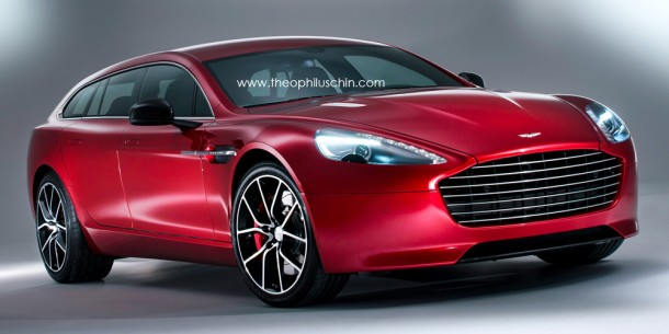 Aston Martin Rapide Shooting Brake Renderings (1)