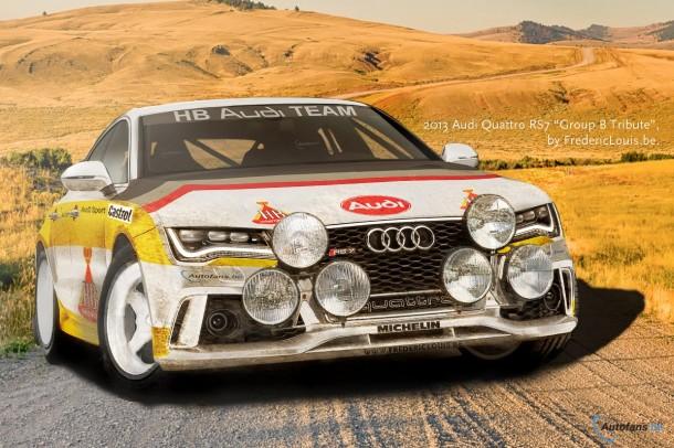 Audi Quattro RS7 Group B Tribute Renderings (1)