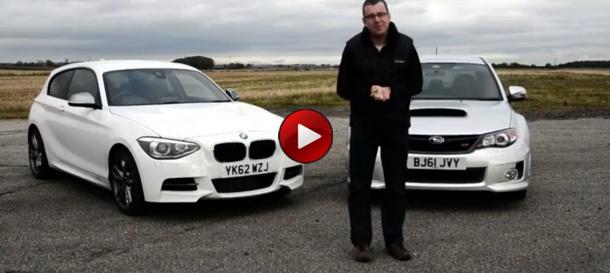 BMW M135i vs Subaru WRX STi
