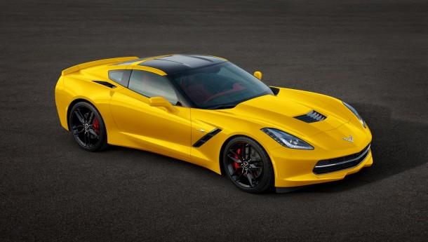 Chevrolet Corvette Stingray 2014 Colors