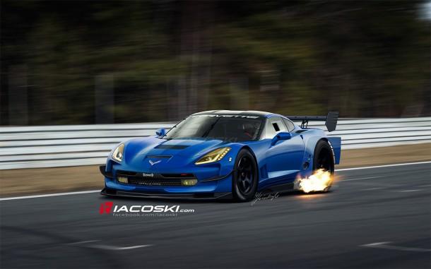 Chevrolet Corvette Stingray Track-Ready Renderings by Iacoski (2)