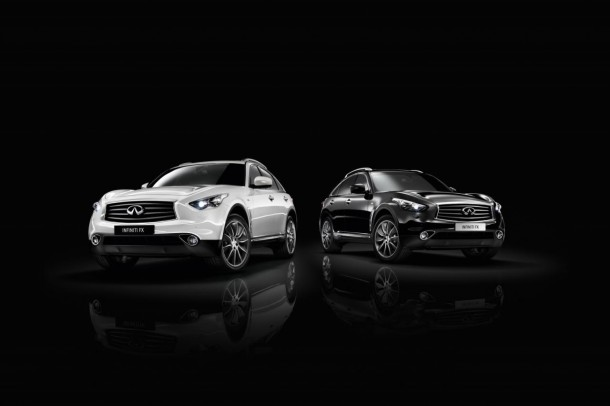 Infiniti FX Black and White edition (1)
