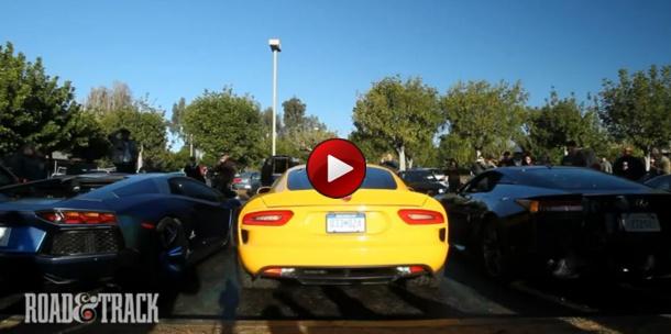 Lamborghini Aventador Vs Lexus LFA Vs SRT Viper