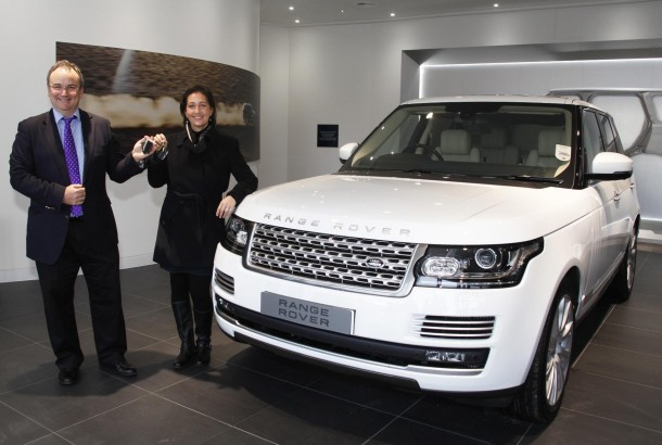 Land Rover brand new handover centre at Solihull (1)