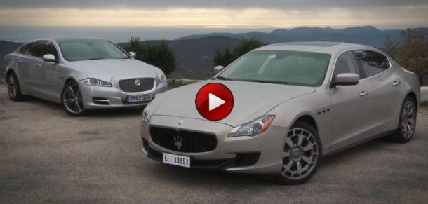 Maserati Quattroporte Vs Jaguar XJ