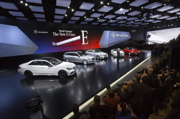 Mercedes-Benz E-Class Facelift 2014 Range in Detroit 2013 (1)