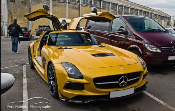 Mercedes SLS AMG Black Series in Barcelona (15)