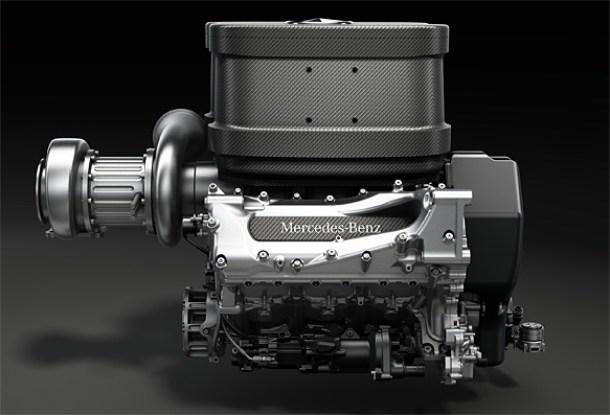 Mercedes reveals 2014 Formula 1 engine