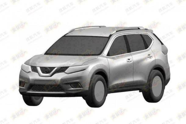 Next-gen Nissan X-Trail leaked patent photos (1)