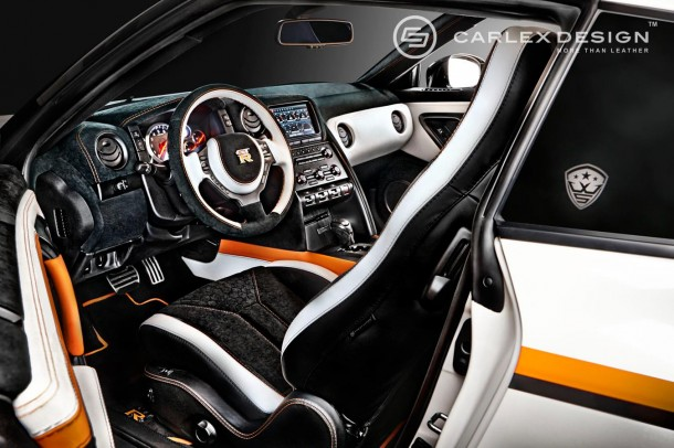 Nissan GT-R Orange Edition by Carlex Design (6)