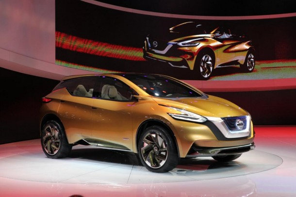 Nissan Resonance Crossover Concept live in Detroit