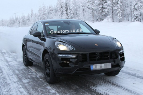 Porsche Macan 2014 Spy Photos