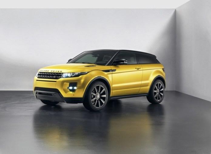 Range Rover Evoque Sicilian Yellow Limited Edition (2)