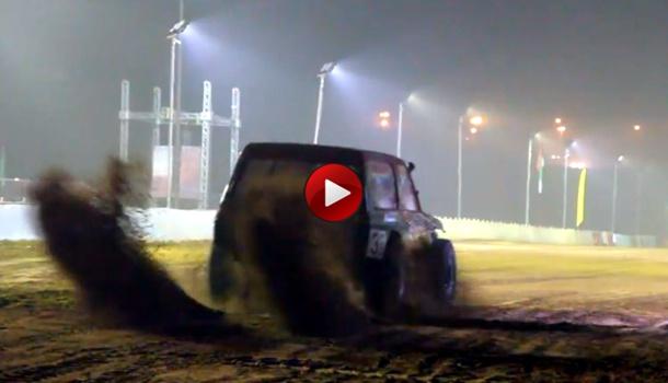 Sand drag race